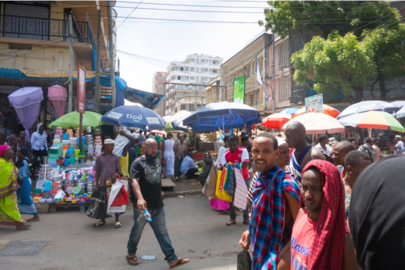 Kariakoo Market dar es salaam