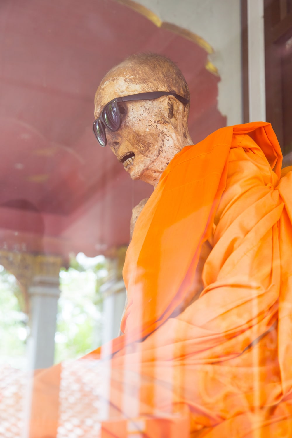Mummy Monk at Wat Khunaram