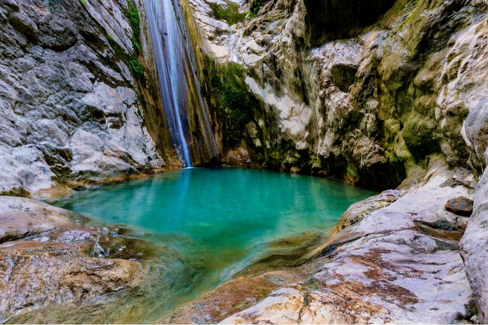 Nydri Waterfall