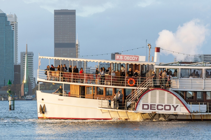 Paddle Steamer on Swan River in Perth