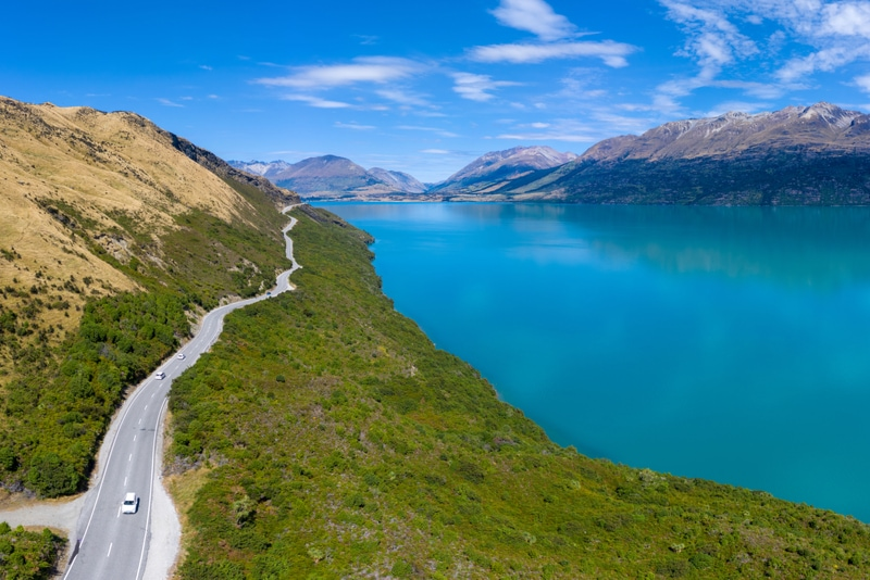 Queenstown-Glenorchy road