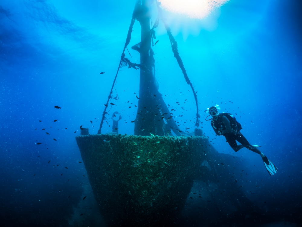 Skiathos diving