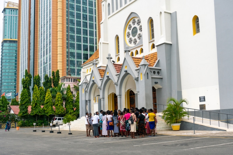St Joseph's Cathedral in Dar es Salaam