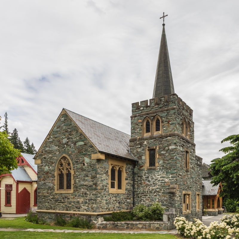 St Peters Anglican Church in Queenstown