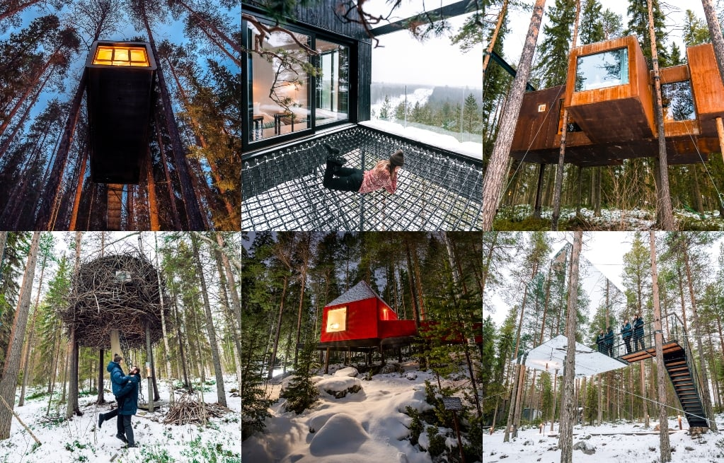 Treehotel in Harads (Sweden) – Review and Photos