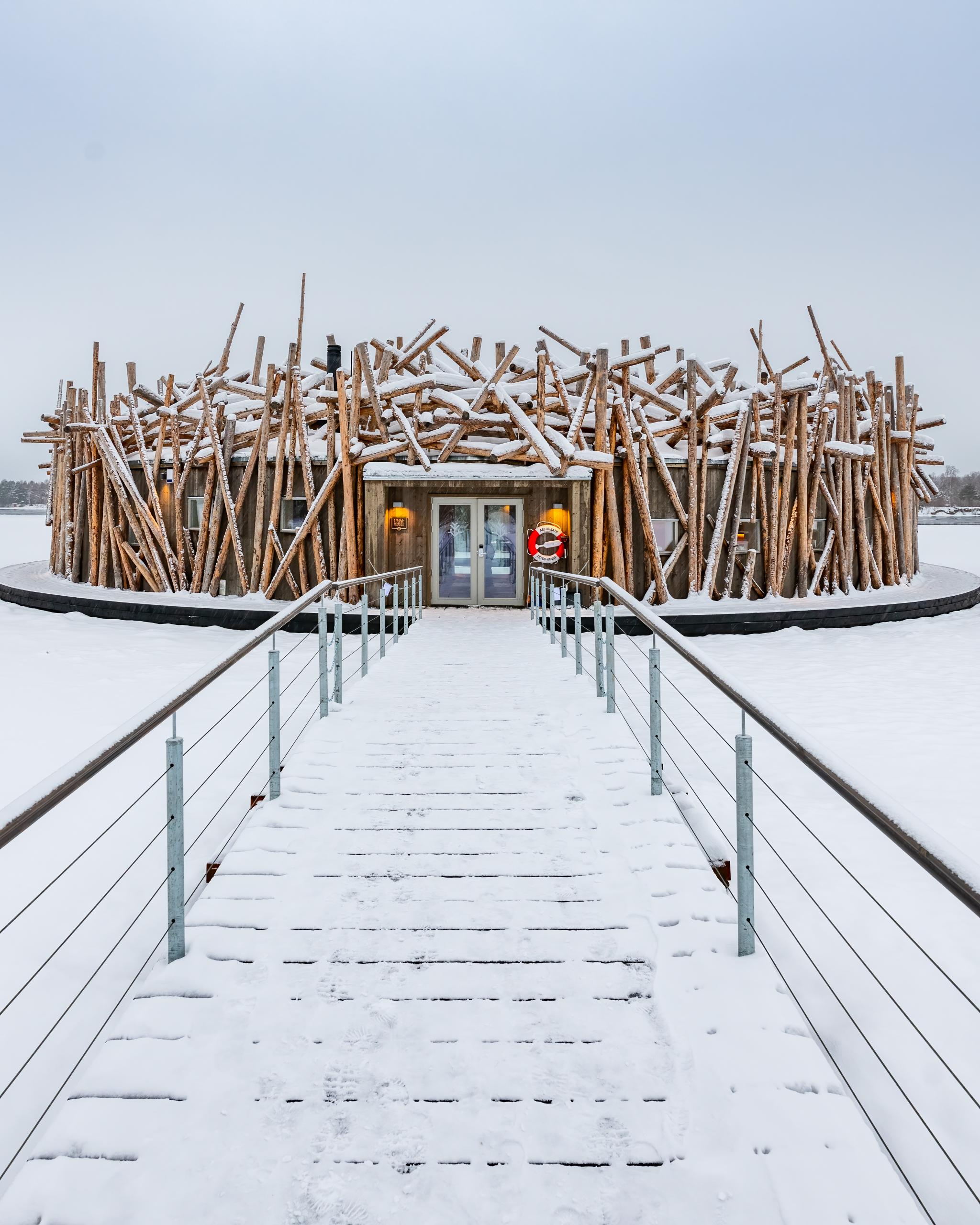 arctic bath huvudentré