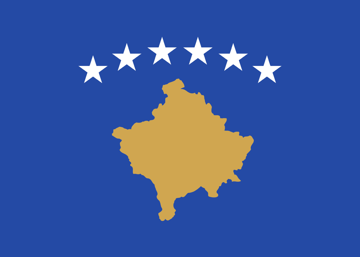 Kosovos flagga