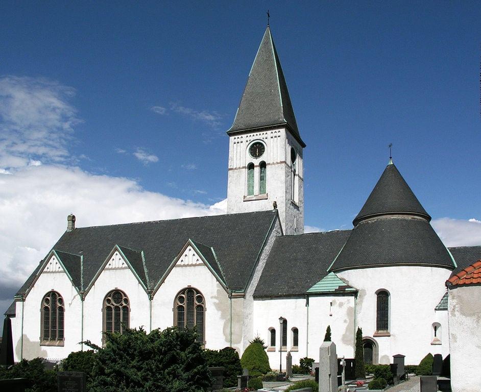 Valleberga kyrka på Österlen