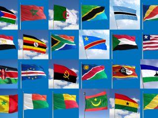 Flaggor i Afrika (1)