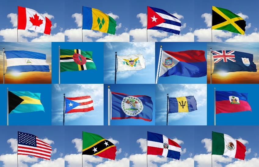 Nordamerikas flaggor