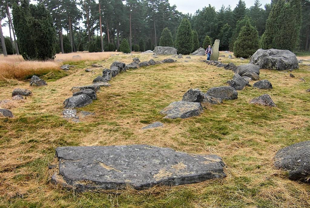 hjortsberga gravfält