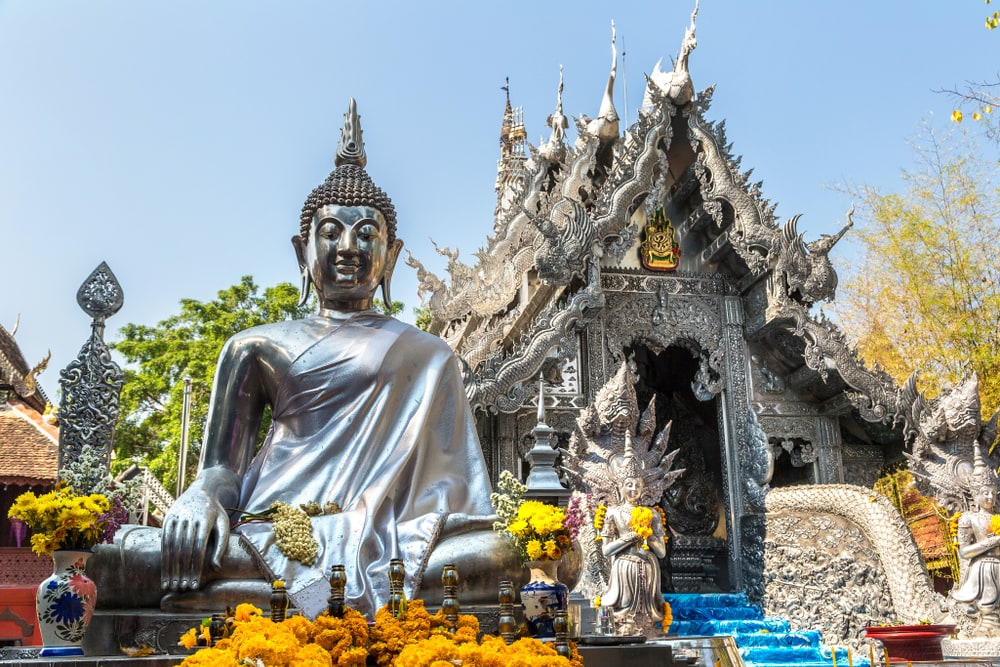Silvertemplet i Chiang Mai