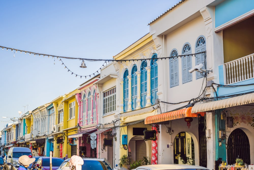 Phuket arkitektur