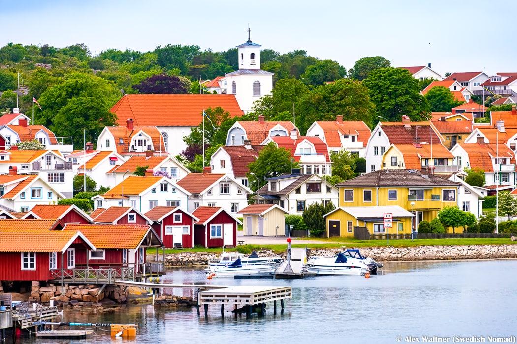 utsikt över Stallet och Bohus Malmön