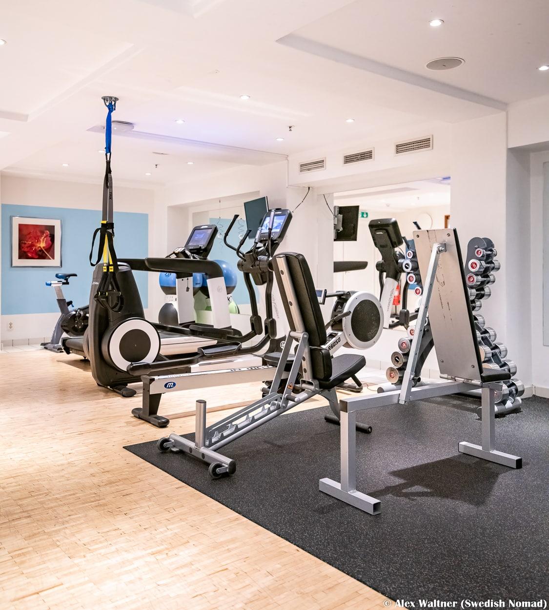 Gym Elite Plaza Hotel Göteborg