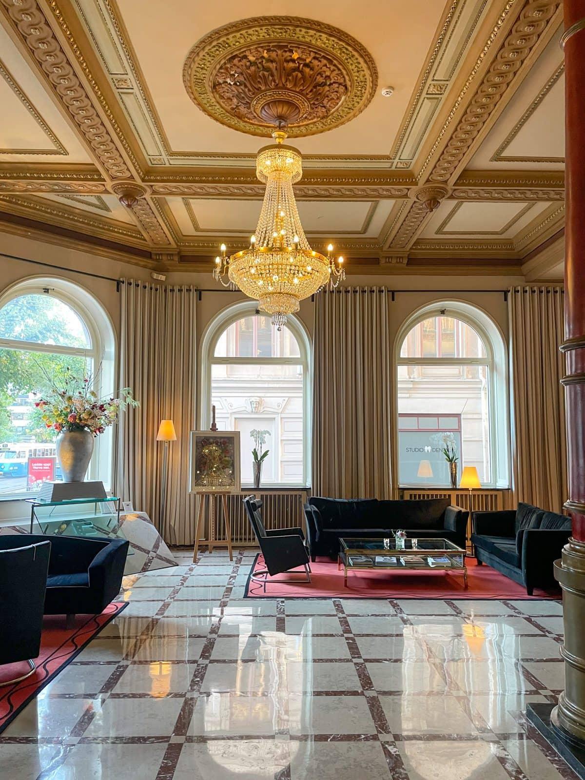 Lobbyn Elite Plaza Hotel Göteborg